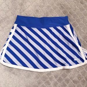 Nike Purple Striped Tennis Skirt